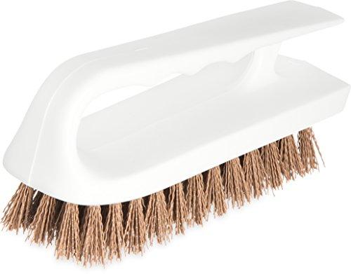 - Carlisle 4002425 Ergonomic Iron-Shaped Handle Scrub Brush, 6