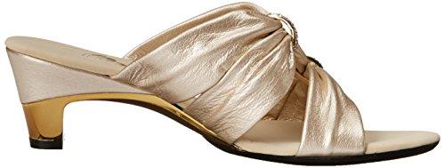 Sandalo In Platino Vestito Da Donna In Onice