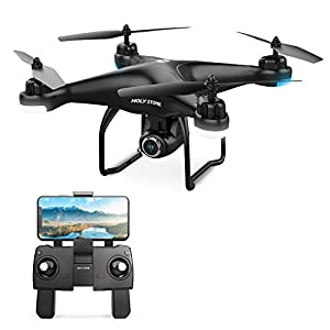 Holy Stone HS120D FPV Drone with Camera for Adults 2K 1080p HD Live Video and GPS Return Home, RC Quadcotper Helicopter…