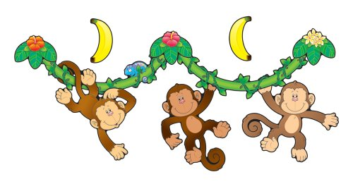 Carson Dellosa Monkey Bulletin Board Set (110099)