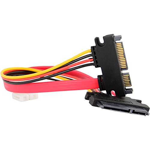 15+7 Pin SATA HDD Extension Cable Data & Power Male to Femal