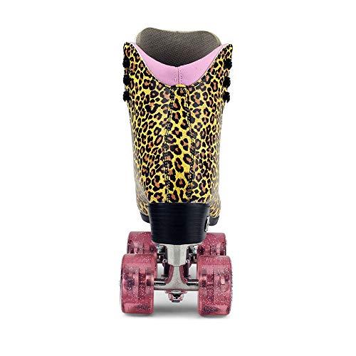 Moxi Skates - Ivy Jungle - Fashionable Womens Roller Skates | Leopard | Size 8 by Moxi (Image #2)