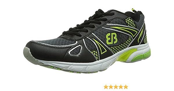 Bruetting Sprinter, Zapatillas de Running para Hombre, Gris-Grau (Grau/Schwarz/Lemon), 46 EU: Amazon.es: Zapatos y complementos