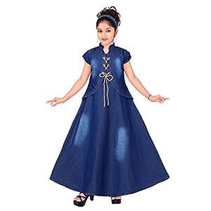 Ark Dresses , Denim Frock for Girls