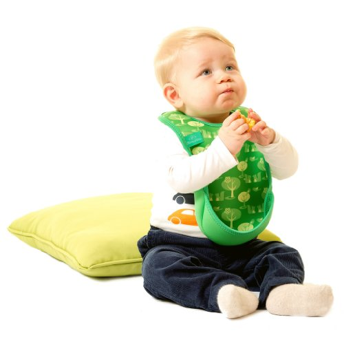 Bibetta Ultrabib Baby Bib (Green Owl) by BabyCenter (Image #8)
