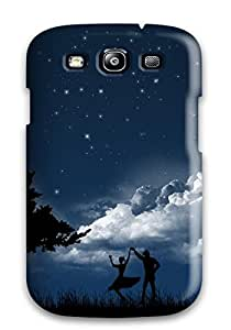 Hot 6995794K27821477 New Dancing In Moonlight Tpu Cover Case For Galaxy S3