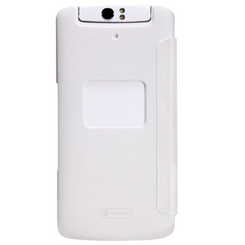 White Case Cover + Screen Protector For OPPO N1 Nillkin NK00115