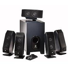 Logitech X-540 5.1 Surround Sound Speaker System with Subwoofer