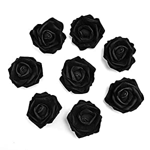 fake flowers heads Artificial PE Foam Roses Flowers for Home Wedding Decoration Scrapbooking Handmade Kissing Balls 20pcs 7cm 84