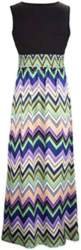 Hirolan Damen Blumenkleid, V-Ausschnitt Rockabilly Kleid Boho Hemdkleid Maxi Sommer Strandkleidung Lange Cocktail Party Minirock
