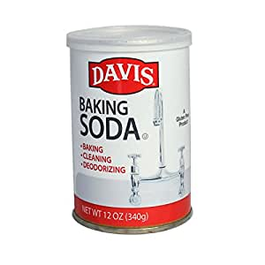 Davis Baking Soda - 12 oz can (12)