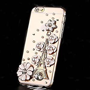 Cubierta Posterior - Look Diamante - para iPhone 6 ( Blanco , Policarbonato )
