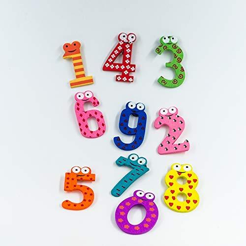 Toys & Hobbies 2pcs/Set Baby Number Refrigerator Magnetic Figure Stick Mathematics Wooden Educational Kids Toys Intelligence Toys from LUOFUSHENG