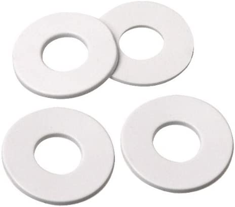 National Artcraft 1 Inch Round Rubber Washer with 7//16 Inch Center Hole 3 Pkg//100