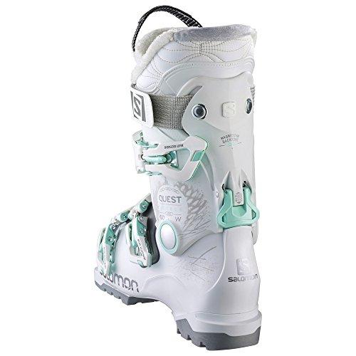 Chaussure de Femme Quest Salomon White Salomon Light W Tr Anthracite 60 Access ski gqSdnn1wU