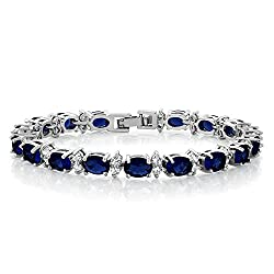 Sparkling Cubic Zirconia CZ Tennis Bracelet