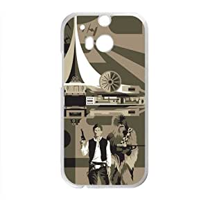 Happy Star Wars Cell Phone Case for HTC One M8