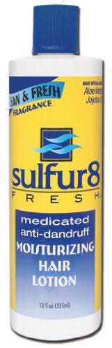 SULFUR 8 Fresh Moisturizing Hair Lotion 12 oz