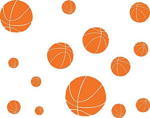 Easma Basketball Decals Basketball Sports Wall Sticker Boys