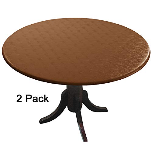- Enduretex 2 Pack Bronze Fitted Tablecloths (tablecovers, Table Covers) Blend with Any Decor. These Protective Vinyl Covers Have no Ink on Surface to Fade or wear Away. Protect- Restore-Decorate.