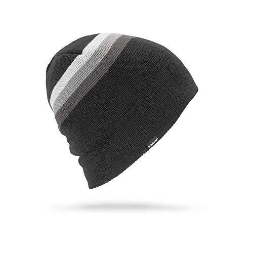 Beanie Volcom Winter (Volcom Men's Apres Stripe Roll Over fit Beanie Black)
