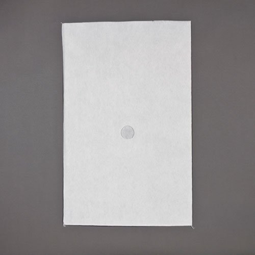 Royal Paper Filter Envelopes with 1.5'' Hole, 17.5'' x 18.5'', Package of 100