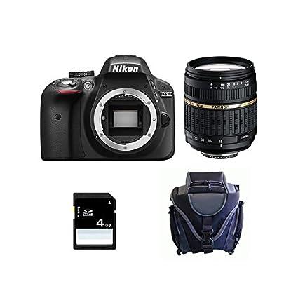 Nikon D3300 + TAMRON AF 18-200 XR Di II LD + SD 4Gb Juego de ...