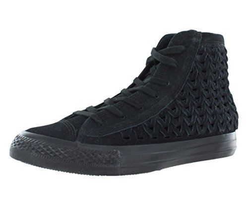 Converse Womens Chuck Taylor All Star Hi Black Sneaker – 8