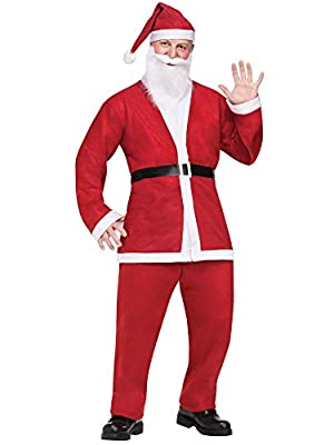 Fun World Costumes Men's Adult Pub Crawl Santa Suit