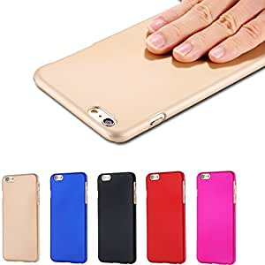Only 1.99$! Hard Back PC Cover For Apple iPhone 6 Plus 5.5'' Luxury Slim Lubricating Matte Touch Case For iPhone 6 4.7'' Retail --- Color:blue For i 6 Plus