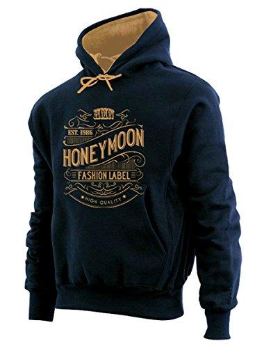 Couvre 12xl lit À Honeymoon beige Noir Vintage Sweatshirt Design 3xl dzPZq