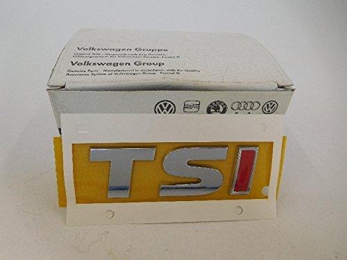 Volkswagen Originale Scritta TSI Posteriore Logo Emblema con rossa i - Volkswagen 5G0 853 675 A VW