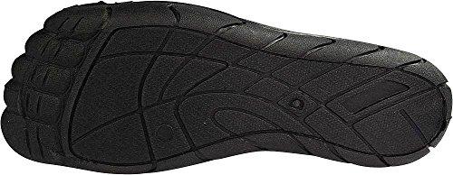Scarpe Acqua Norty Mens Aqua Sock Wave - 10 Combinazioni Di Colori - Slip-on Impermeabili Per Piscina, Spiaggia E Sport Grigio / Argento