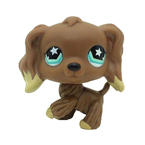 Cocker Spaniel Dachshund - Vibola Rare Standing Pet Dog Animal Toy for Child Girl boy Figure Loose Toys