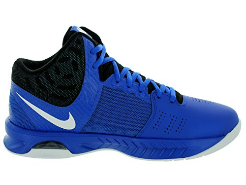 online retailer 264bc 90120 ... Nike Hommes Air Visi Pro Vi Basketball Chaussures Jeu Royal   Noir    Photo Bleu