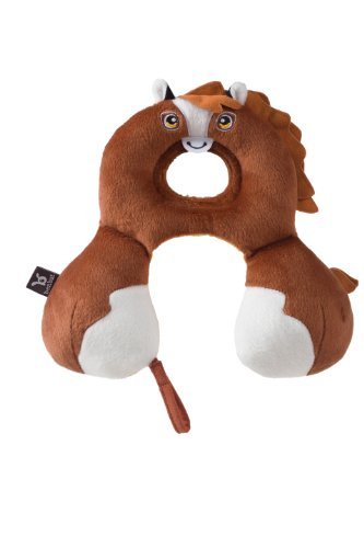 BenBat Infant Headrest & Neck Support Pillow,  0-12 months, (Horse Head Pillow)