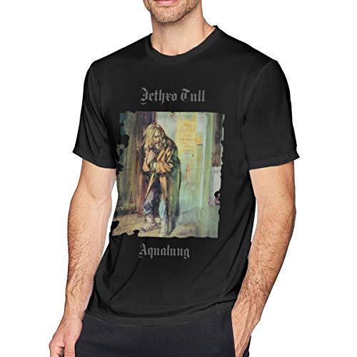 Kangtians Wwdcd JethroTull Aqualung Short Sleeve T-Shirt Black S
