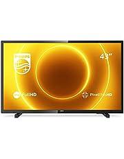Philips 43PFS5505/12 43-inch LED-tv (Full HD, Pixel Plus HD, full-range luidspreker, 2 x HDMI, USB) zwart glanzend [modeljaar 2020]