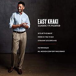 Dockers Men's Classic Fit Easy Khaki Pan...