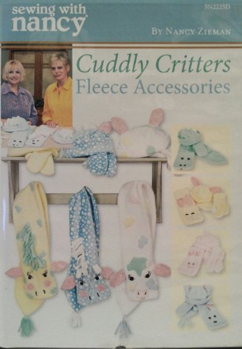 Sewing Fleece Mittens - Sewing with Nancy Zieman Cuddly Critters Fleece Accessories DVD