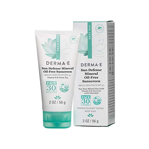 Derma Moisturizer Body - DERMA E Sun Defense Mineral Oil-Free Face Sunscreen