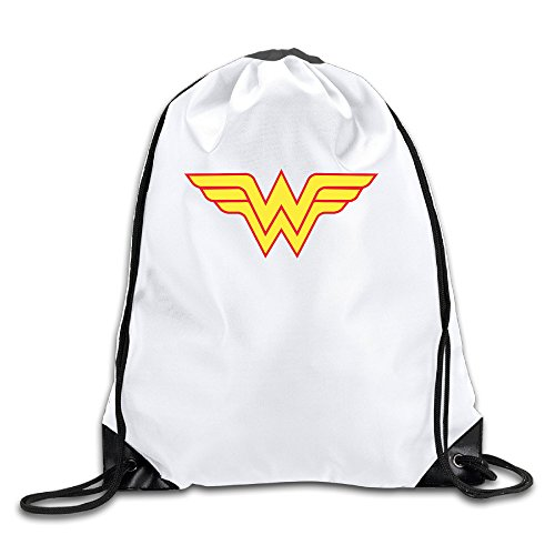 Price comparison product image LHLKF Avengers Wonder Woman Logo One Size New Design Pocket Canvas