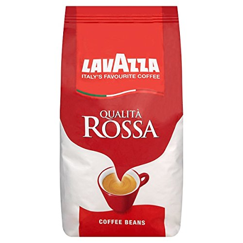 Lavazza Qualita Rossa Coffee Beans, Pack of 6, 6 x 1000g by Lavazza by Lavazza