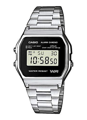 Unisex Watches CASIO CASIO Collection Retro A158WEA-1EF