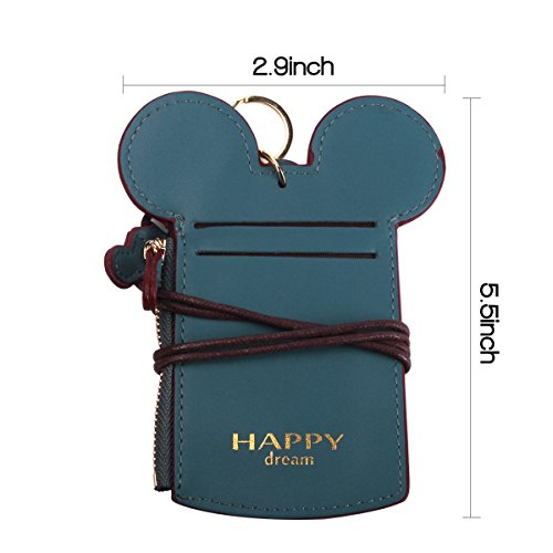 Neck Pouch - Travel Neck Wallet Student Card Holder Wallet Purse Neck Bag Anti-Theft Hidden Wallet With Coin Wallet Purse For School Students Women Kids Teens Girls (Asper) by SHARBAY INC (Image #4)