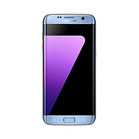 Samsung Galaxy S7 Edge SM-G935F 32GB Android Single-SIM Factory Unlocked 4G/LTE Smartphone (Coral Blue) - International (Samsung 157 Unlocked)