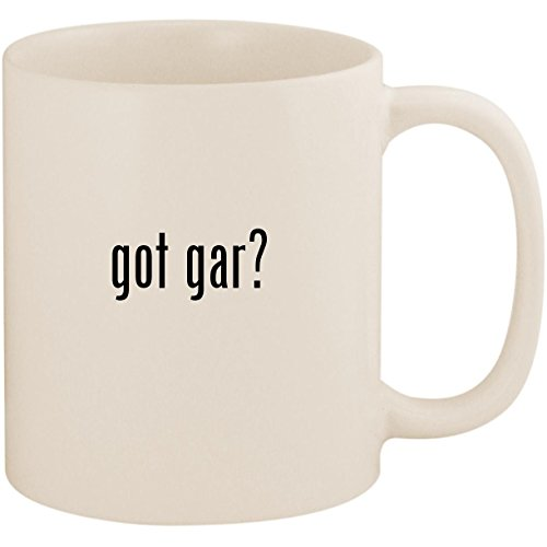 got gar? - 11oz Ceramic White Coffee Mug Cup, White