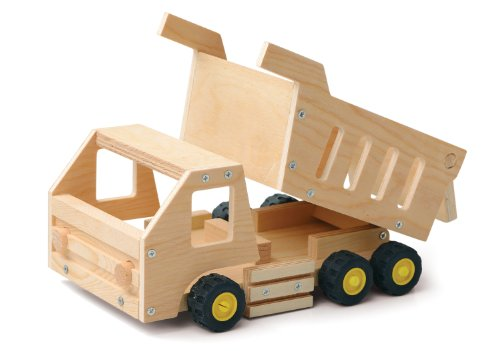 Red Tool Box Dump Truck Building Kit
