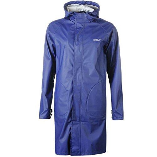 Gelert lang Länge Regen Jacke unisex erwachsene Navy Jacken Mäntel Oberbekleidung