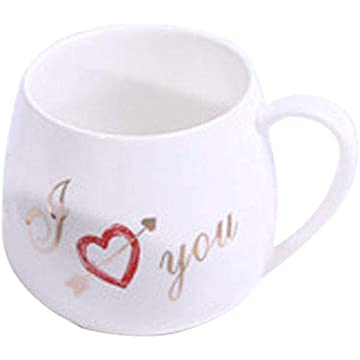 Ladiy Creative Ceramic Mug Cup Coffee Tea Water Cup